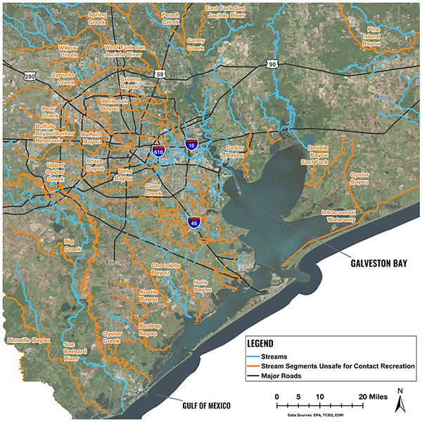 High Swim Risk Waterways